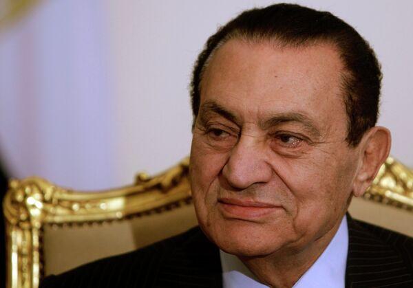 Hosni Mubarak - Sputnik International