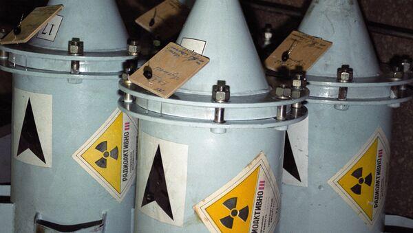 Контейнеры с ядерным топливом - Sputnik International