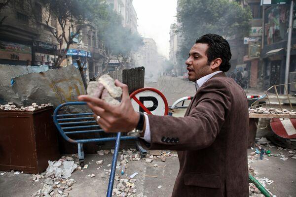 Egypt's street protests - Sputnik International
