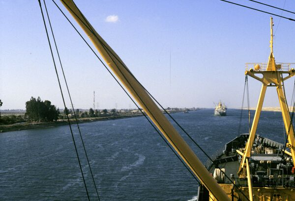 Suez Canal  - Sputnik International