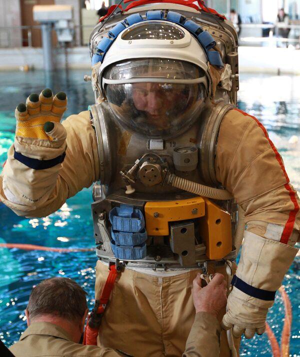 Cosmonauts train in Star City - Sputnik International