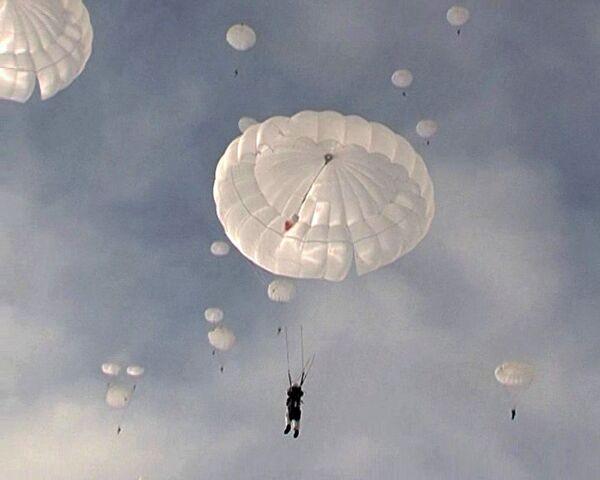 Ryazan hosts airborne exercises  - Sputnik International