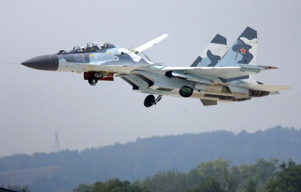 Russia's Defense Ministry has signed an order with aircraft-maker Irkut for 30 Su-30SM multirole fighter aircraft - Sputnik International