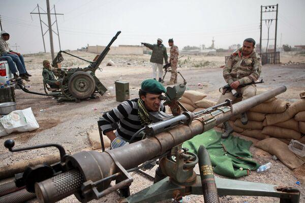 Libyan rebel fighters - Sputnik International