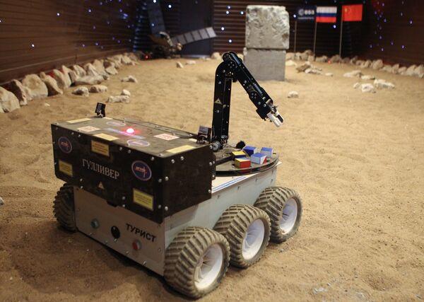 Testing the Tourist-Gulliver Mars rover - Sputnik International