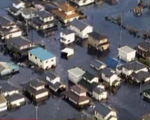 Tsunami Hits Japan after Massive Quake - Sputnik International