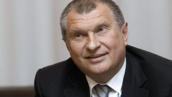 Rosneft CEO Igor Sechin - Sputnik International
