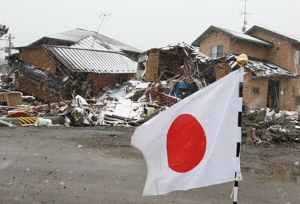 Sendai in ruins: Russian rescue team at work - Sputnik International