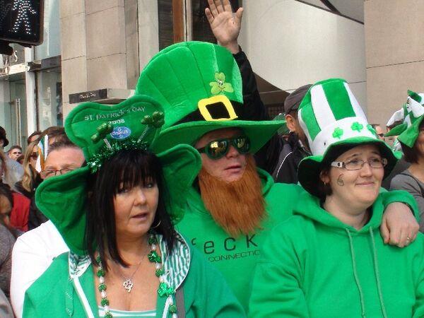 St. Patrick's Day parade in New York - Sputnik International