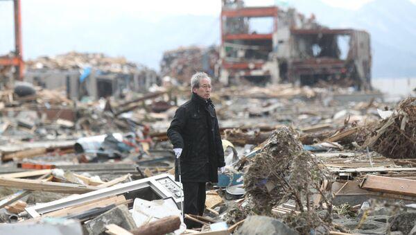 Aftermath of earthquakes in Japan - Sputnik International