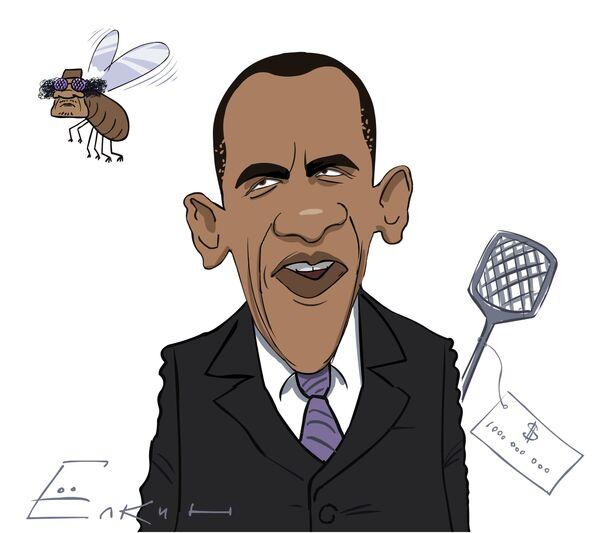 Obama and Gaddafi - Sputnik International