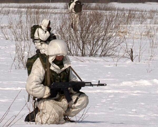 Paratroopers capture and destroy mock enemy communication station - Sputnik International
