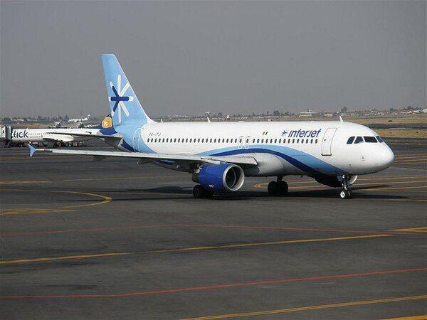 A320 Interjet in Mexico City International airport - Sputnik International