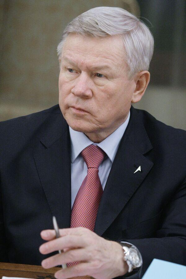 Russia's Federal Space Agency Roscosmos director, Anatoly Perminov  - Sputnik International