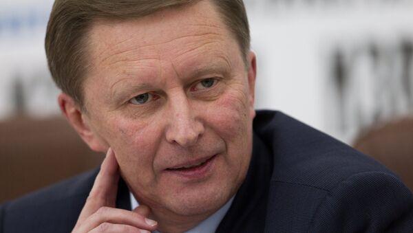Russian Deputy Prime Minister Sergei Ivanov. FIles - Sputnik International