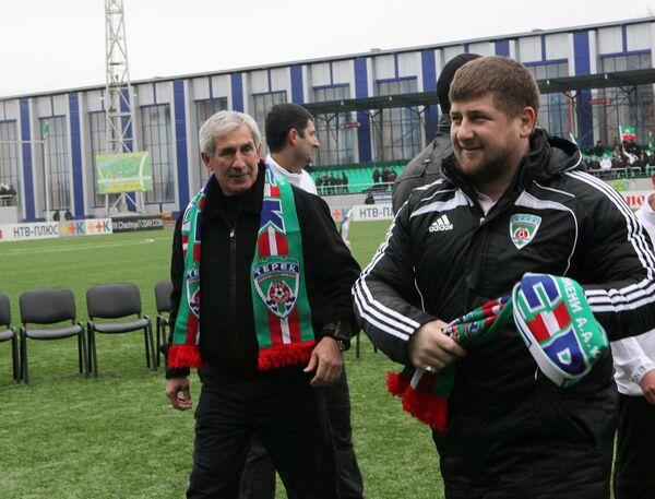 Khaidar Alkhanov and Ramzan Kadyrov - Sputnik International