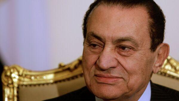 Former Egyptian president Hosni Mubarak - Sputnik International