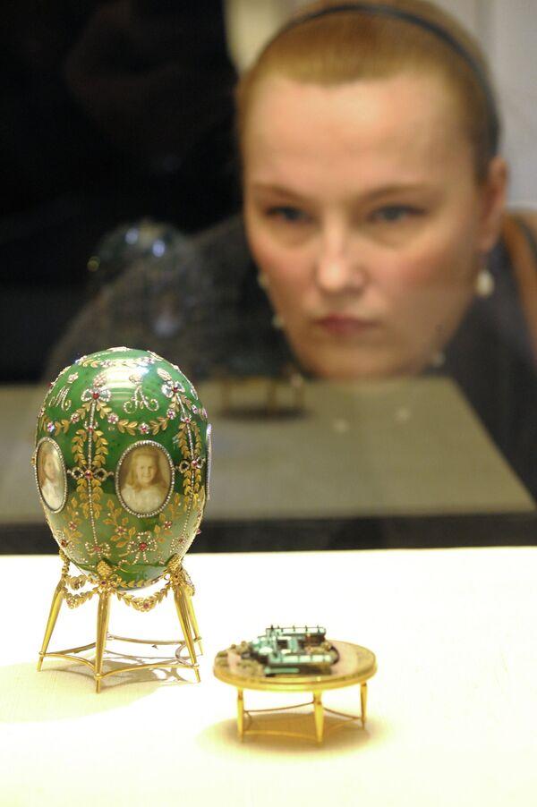 Faberge Easter eggs and a gemstone zoo in the Kremlin - Sputnik International