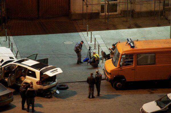 Mercedes car stopped on Kutuzovsky Prospekt - Sputnik International