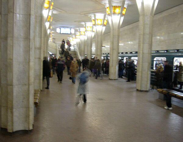 Minsk Metro, Oktyabrskaya station. Archive - Sputnik International