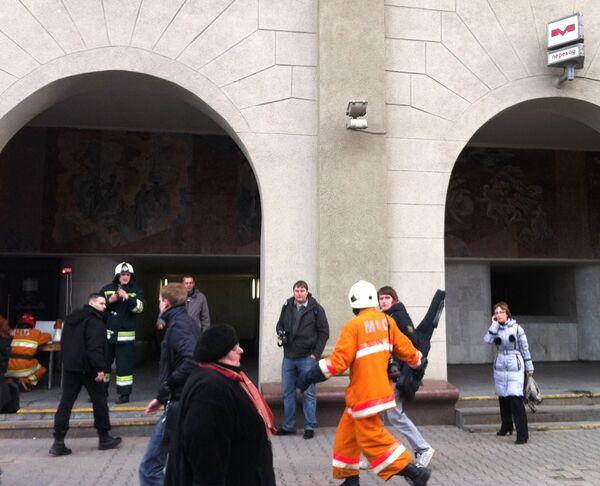 Dead, wounded in Minsk metro blast - emergencies ministry - Sputnik International