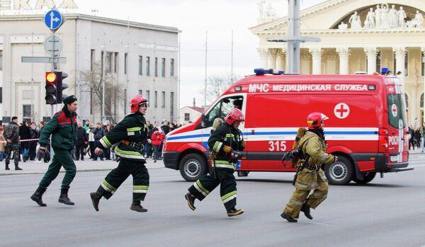 Explosion in Minsk metro - Sputnik International