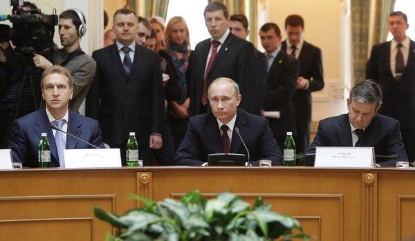 Vladimir Putin visits Kiev - Sputnik International