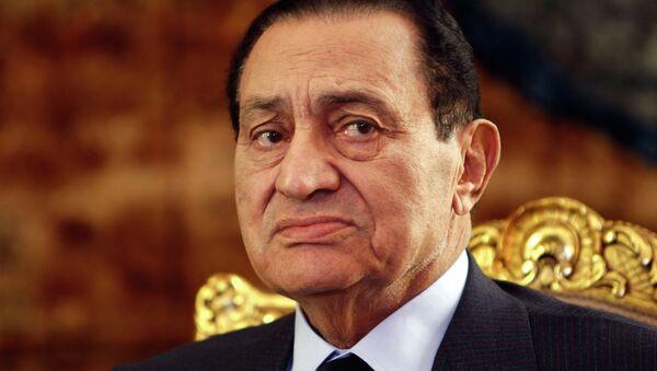 Egyptian ex- President Hosni Mubarak - Sputnik International