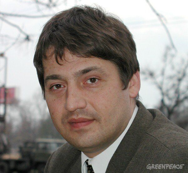 Campaign director of Greenpeace Russia Ivan Blokov - Sputnik International