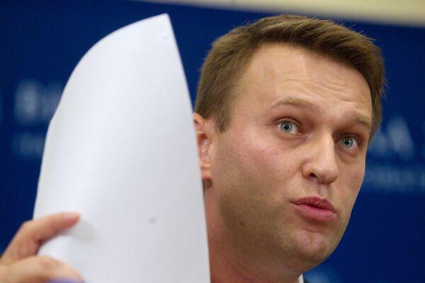 Navalny Says Second Case Launched against Him         - Sputnik International