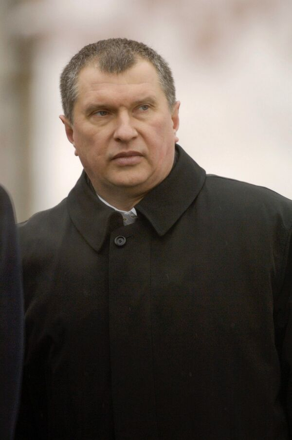 Igor Sechin - Sputnik International