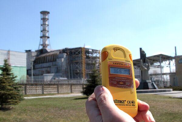 Chernobyl Cover Construction to Start in April      - Sputnik International