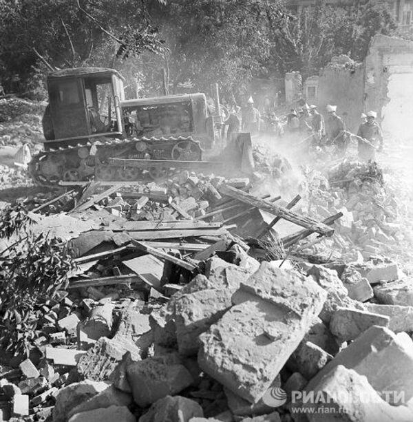 Tashkent after the April 1966 earthquake  - Sputnik International