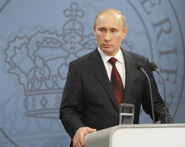Russian Prime Minister Vladimir Putin - Sputnik International
