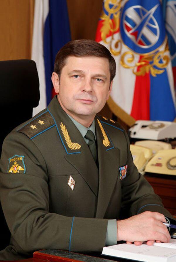 Commander of Russian Space Forces Lt. Gen. Oleg Ostapenko - Sputnik International