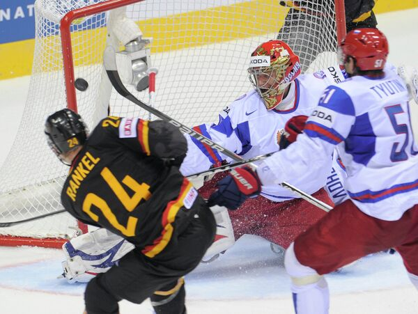 Historic loss against Germany gives Russian hockey team wakeup call - Sputnik International