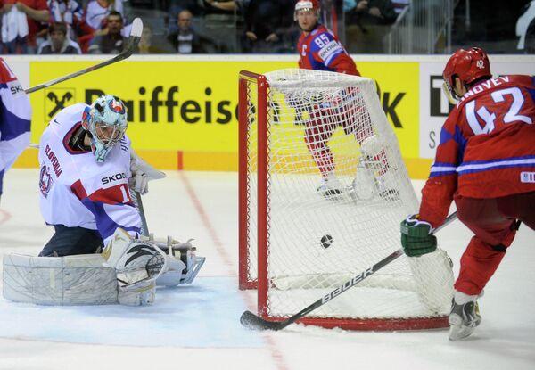 Russia defeats Slovenia 6-4 at ice hockey worlds - Sputnik International