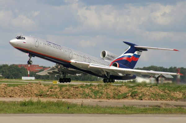Passenger plane Tu-154. Archive - Sputnik International