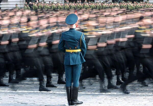 Full dress rehearsal for May 9 Victory Day Parade - Sputnik International