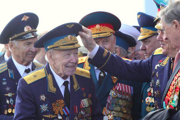 Victory Day festivities in Moscow - Sputnik International