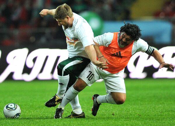 World football all-stars in Grozny - Sputnik International