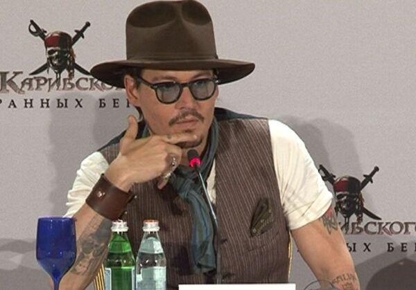 Johnny Depp reveals the secret of pirate Jack Sparrow's popularity  - Sputnik International