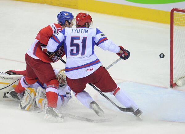 Russia loses ice hockey worlds third place to Czech Republic - Sputnik International