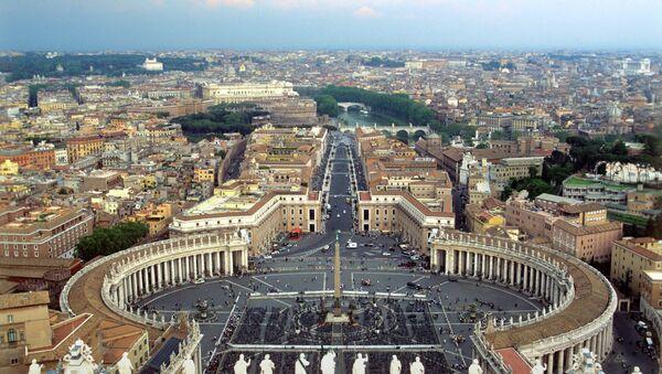 Via della Conciliazione can be seen here as a continuation of Piazza San Pietro - Sputnik International