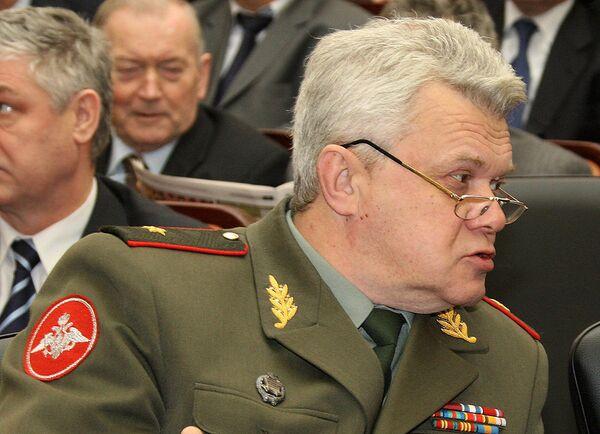 Deputy Chief of the Armed Forces' Main directorate Maj. Gen. Vaganov - Sputnik International
