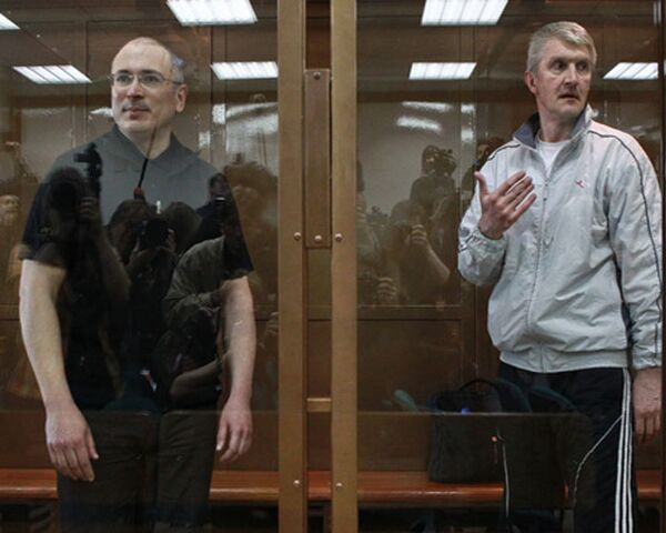 Mikhail Khodorkovsky and Platon Lebedev - Sputnik International