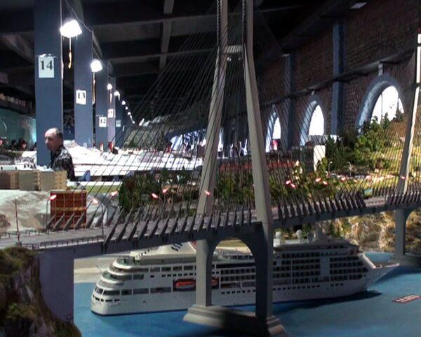 Dynamic 800-square-meter model of Russia - Sputnik International