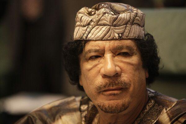 Muammar Gaddafi - Sputnik International