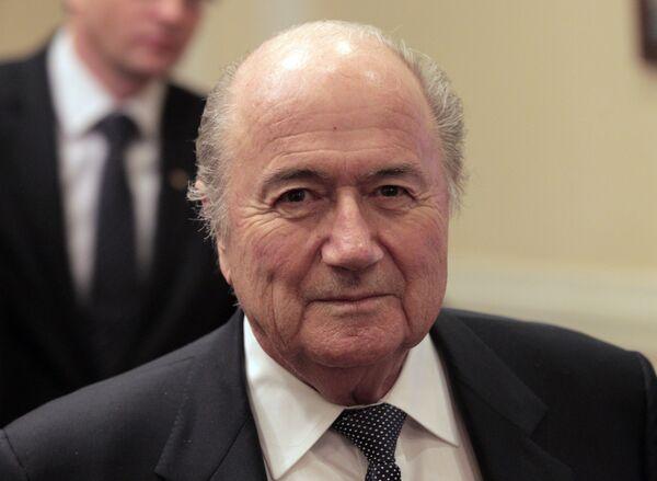Federation Internationale de Football Association (FIFA) President Joseph Blatter. - Sputnik International