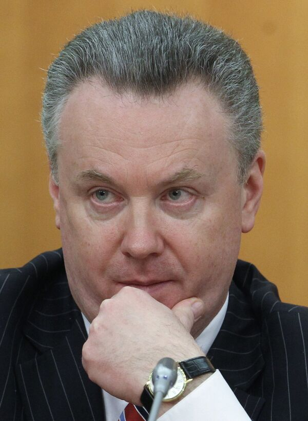 Russian Foreign Ministry spokesman Alexander Lukashevich - Sputnik International